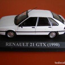 Coches a escala: RENAULT 21 GTX DE 1990 BLANCO , ALTAYA 1/43.. Lote 118704103