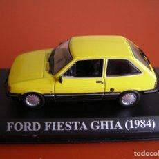 Coches a escala: FORD FIESTA GHIA DE 1984, SEGUNDA SERIE, ALTAYA 1/43.. Lote 118704535
