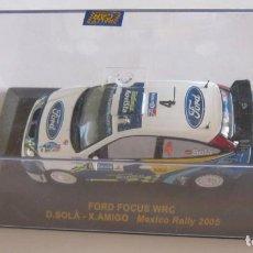Coches a escala: COCHE FORD FOCUS WRC MEXICO RALLY 2005, D. SOLA - X. AMIGO, EN CAJA. CC. Lote 118966959