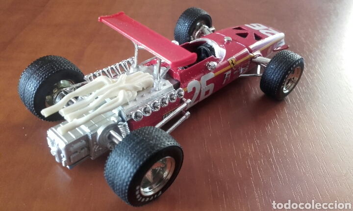 Coches a escala: Ferrari 312 F1 1968 de Brumm escala 1:43 - Foto 2 - 119376864