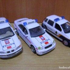 Coches a escala: COCHES DE POLICIA NACIONAL Y FRANCESA ESC, 1,43.. Lote 119389755