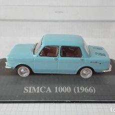 Coches a escala: SIMCA 1000 (1966) ALTAYA-IXO 1/43. Lote 119972867