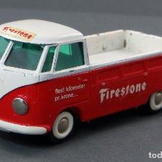 Coches a escala: FURGONETA VOLKSWAGEN TEKNO FIRESTONE MADE IN DENMARK 1/43 AÑOS 60. Lote 120405911