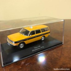 Coches a escala: TAXI VOLVO 145 . STOCKHOLM 1973 . ESCALA 1:43 CAJA ORIGINAL. PERFECTO ESTADO. Lote 192154075