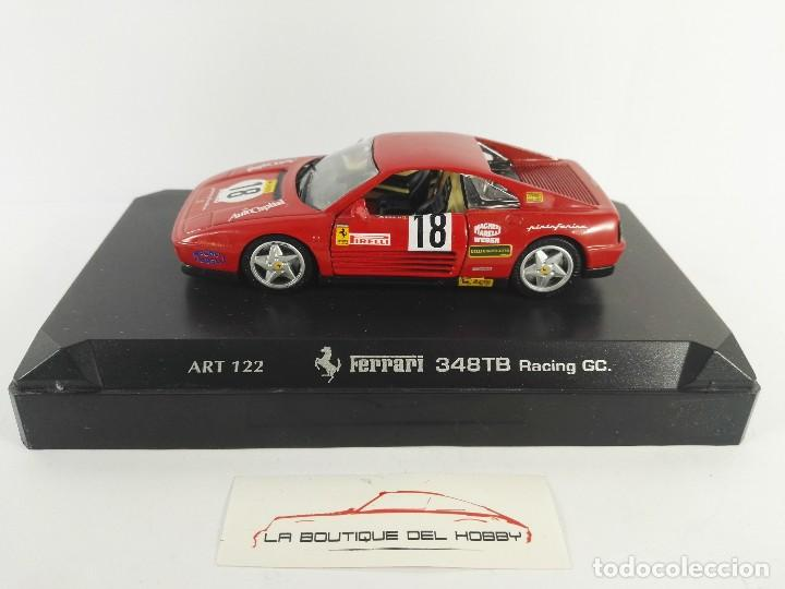 FERRARI 348TB RACING GC DETAIL CARS ESCALA 1:43 DEFECTUOSO (Juguetes - Coches a Escala 1:43 Otras Marcas)