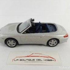 Coches a escala: PORSCHE 911 CARRERA CABRIO DEL PRADO ESCALA 1:43 DEFECTUOSO. Lote 121256555