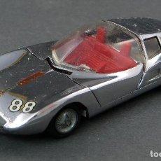 Coches a escala: MONZA GT TEKNO MADE IN DENMARK 1/43 GRIS CROMADO. Lote 121626903
