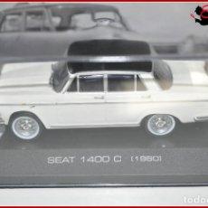Coches a escala: TX 412 COCHES ESCALA - ALTAYA 1:43 - SEAT 1400 C 1960. Lote 121876851