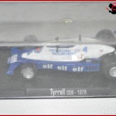 Coches a escala: TX 472 COCHES ESCALA - RBA 1:43 - TYRRELL 008 1978. Lote 121962611