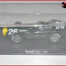 Coches a escala: TX 476 COCHES ESCALA - RBA 1:43 - VANWALL VW57 1957 . Lote 121964515