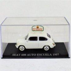 Coches a escala: SEAT 600 AUTO ESCUELA ALTAYA/IXO. Lote 122555367