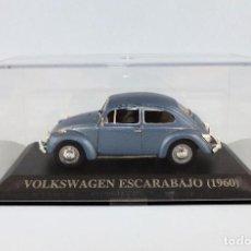 Coches a escala: VOLKSWAGEN ESCARABAJO DE 1960 ALTAYA/IXO. Lote 122590015