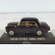 Coches a escala: MERCEDES BENZ 180D DE 1957 ALTAYA/IXO. Lote 122590115