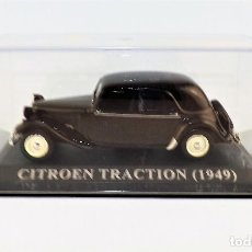 Coches a escala: CITROEN TRACTION DE 1949 ALTAYA/IXO. Lote 122590499