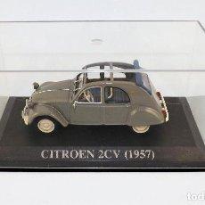 Coches a escala: CITROEN 2 CV DE 1957 ALTAYA/IXO. Lote 122602947