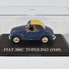 Coches a escala: FIAT TOPOLINO DE 1949 ALTAYA/IXO. Lote 122610787