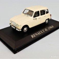 Coches a escala: RENAULT 4L DE 1964 ALTAYA/IXO. Lote 159128356