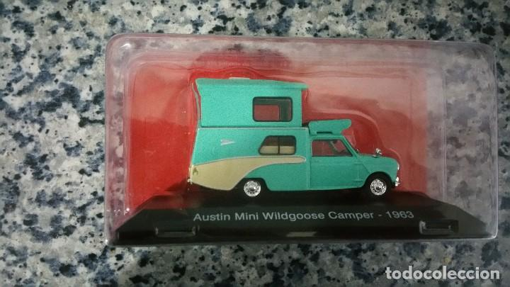 Austin Míni Wildgoose Camper Buy Model Cars At Scale 143 By Other
