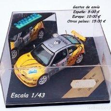 Coches a escala: VITESSE 069F RENAULT MÉGANE MAXI Nº 1 ORIOL GÓMEZ / 29 RALLY DE ORENSE 1996. Lote 114997751
