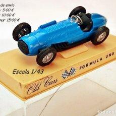 Coches a escala: OLD CARS / SERIE FORMULA 1 / TALBOT LAGO 4.5 LT - 1949 - N 3. Lote 93631620