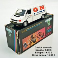 Coches a escala: SCHABAK 1065 VOLKSWAGEN TRANSPORTER ON LINE - ELECTRONIC BANKING SERVICE. Lote 93720995