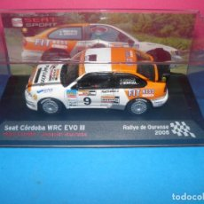 Coches a escala: SEAT CÓRDOBA WRC SEAT SPORT. ALTAYA 1/43. Lote 125200311
