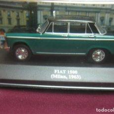 Coches a escala: TAXI FIAT 1500 (MILAN, 1963). ESCALA 1: 43. EN CAJA. ALTAYA. . Lote 125304955