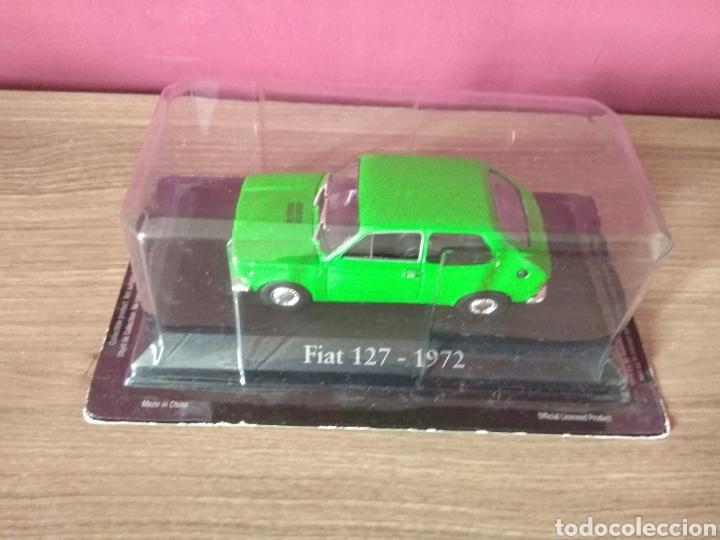 Coches a escala: COCHE FIAT 127 VERDE 1/43 1:43 METAL CAR SEAT MINIATURA - Foto 3 - 70334599