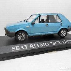 Coches a escala: COCHE SEAT RITMO 75CL 75 CL AÑO 1979 ALTAYA 1/43 1:43 METAL MODEL CAR MINIATURA MINIATURE ALFREEDOM. Lote 180035273