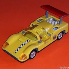 Coches a escala: CHAPARRAL 2-F *AMARILLO* REF. 113, METAL ESC. 1/43, JOAL MADE IN SPAIN, ORIGINAL AÑOS 70.. Lote 125864027