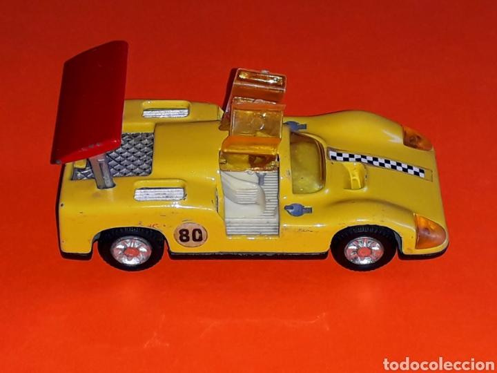 Coches a escala: Chaparral 2-F *amarillo* ref. 113, metal esc. 1/43, Joal made in Spain, original años 70. - Foto 2 - 125864027