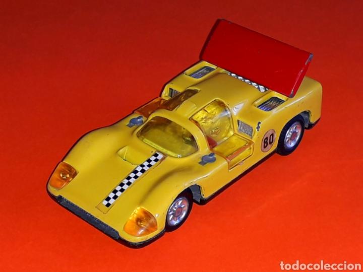 Coches a escala: Chaparral 2-F *amarillo* ref. 113, metal esc. 1/43, Joal made in Spain, original años 70. - Foto 3 - 125864027