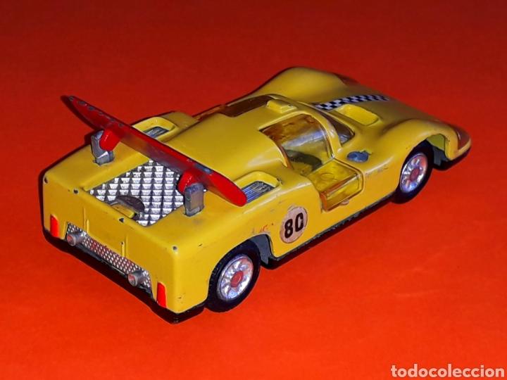 Coches a escala: Chaparral 2-F *amarillo* ref. 113, metal esc. 1/43, Joal made in Spain, original años 70. - Foto 4 - 125864027