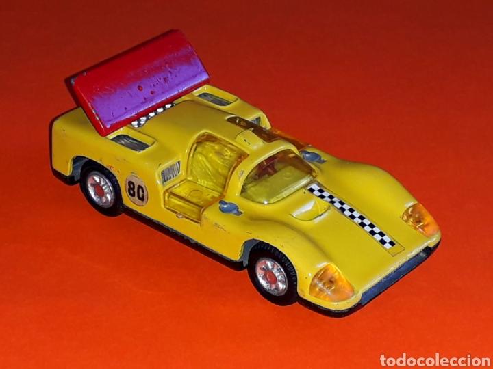 Coches a escala: Chaparral 2-F *amarillo* ref. 113, metal esc. 1/43, Joal made in Spain, original años 70. - Foto 5 - 125864027