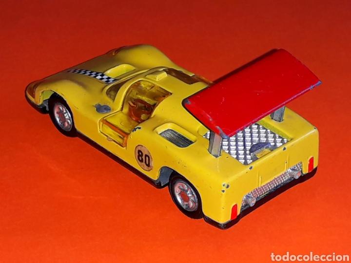 Coches a escala: Chaparral 2-F *amarillo* ref. 113, metal esc. 1/43, Joal made in Spain, original años 70. - Foto 6 - 125864027