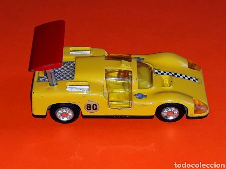 Coches a escala: Chaparral 2-F *amarillo* ref. 113, metal esc. 1/43, Joal made in Spain, original años 70. - Foto 7 - 125864027