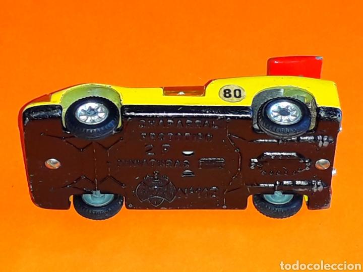 Coches a escala: Chaparral 2-F *amarillo* ref. 113, metal esc. 1/43, Joal made in Spain, original años 70. - Foto 8 - 125864027