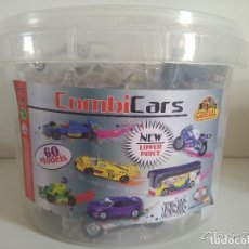 Coches a escala: EXPOSITOR GUISVAL COMBI CARS COMBICARS MINIATURAS EN METAL. Lote 125993639
