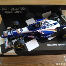 Coches a escala: COCHE ESCALA 1:43 MINICHAMPS F1 WILLIAMS RENAULT FW 18 HILL. Lote 126150227