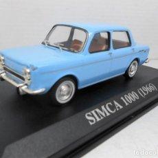 Coches a escala: COCHE SIMCA 1000 1966 ALTAYA IXO MODEL CAR 1/43 1:43 MINIATURE MINIATURA AUTO . Lote 126549575