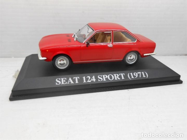 COCHE SEAT 124 SPORT ROJO 1971 ALTAYA IXO MODEL CAR 1/43 1:43 MINIATURE MINIATURA AUTO FIAT (Juguetes - Coches a Escala 1:43 Otras Marcas)