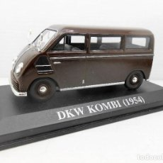 Coches a escala: COCHE DKW KOMBI 1954 ALTAYA IXO MODEL CAR 1/43 1:43 MINIATURE MINIATURA AUTO VAN FURGONETA. Lote 126552063
