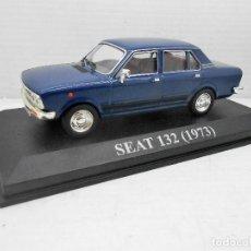 Coches a escala: COCHE SEAT 132 1973 ALTAYA IXO MODEL CAR 1/43 1:43 MINIATURE MINIATURA AUTO FIAT. Lote 174436937