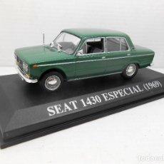 Coches a escala: COCHE SEAT 1430 ESPECIAL 1969 ALTAYA IXO MODEL CAR 1/43 1:43 MINIATURE MINIATURA AUTO FIAT. Lote 246251530