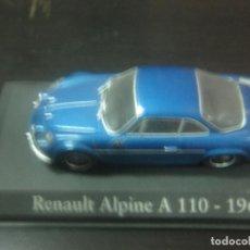 Coches a escala: RENAULT ALPINE A 110. (1971). ESCALA 1:43. CLASICOS INOLVIDABLES. ALTAYA. Lote 126562003