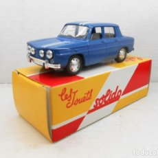 Coches a escala: 3 COCHE RENAULT 8 1/43 SOLIDO SALVAT CAR 1:43 MINIATURE MADE IN FRANCE RALLY . Lote 126889959