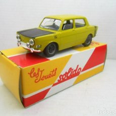 Coches a escala: 20 COCHE SIMCA 1000 RALLY SOLIDO SALVAT CAR 1:43 MINIATURE MINIATURA MODEL 1/43 . Lote 126891647