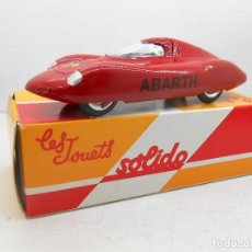 Coches a escala: 21 COCHE FIAT ABARTH SOLIDO SALVAT CAR 1:43 MINIATURE MINIATURA MODEL 1/43. Lote 126891767