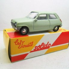 Coches a escala: 23 COCHE RENAULT 5 R5 SOLIDO SALVAT CAR 1:43 MINIATURE MINIATURA MODEL 1/43 . Lote 126891939