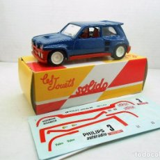 Coches a escala: 26 COCHE RENAULT 5 MAXI TURBO SOLIDO SALVAT CAR 1:43 MINIATURE MINIATURA L 1/43. Lote 126892199